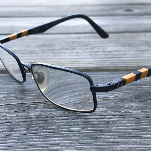 Ray-Ban Eyeglasses Frame Black Tone Metal Full Rim